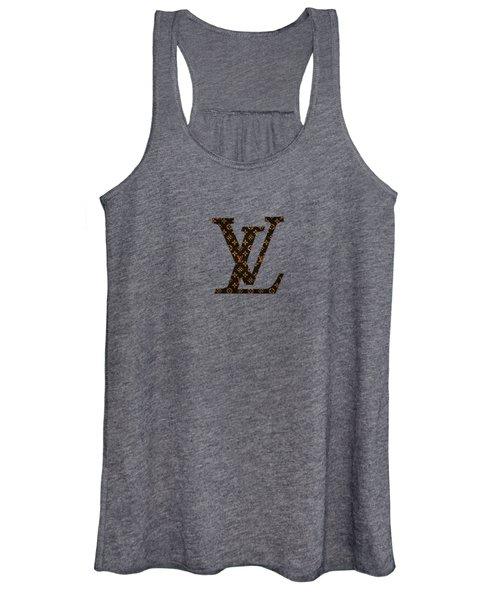 Lv Pattern Women's Tank Top