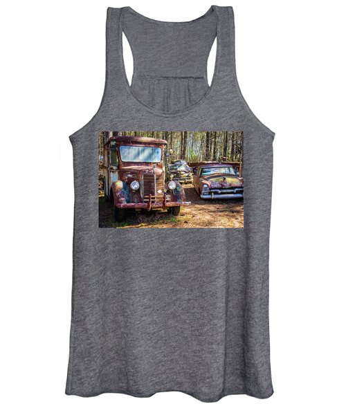 Mack Truck And Plymouth Women's Tank Top