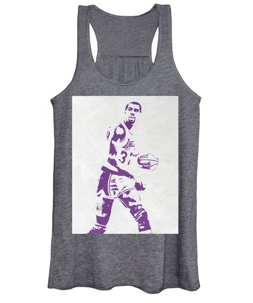 Magic Johnson Los Angeles Lakers Pixel Art Women's Tank Top