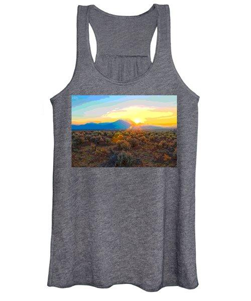 Magic Over Taos Women's Tank Top