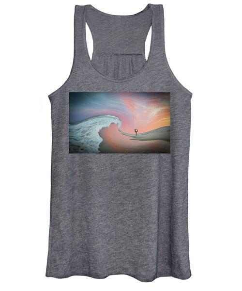 Magical Beach Sunset Women's Tank Top