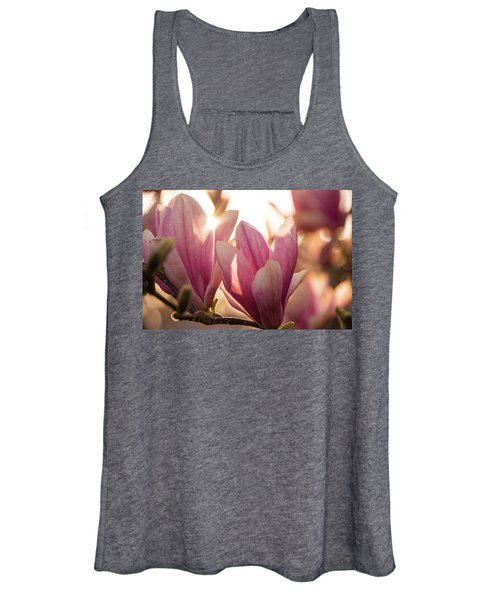Magnolias At Sunset Women's Tank Top