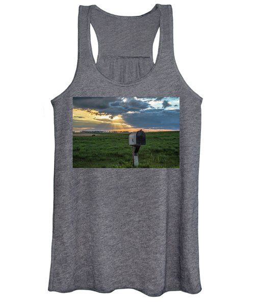 Mail Box In North Dakota  Women's Tank Top