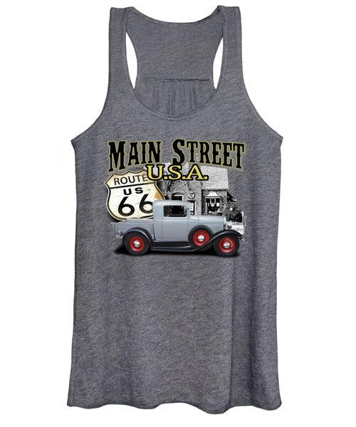 Main Street Rod Women's Tank Top