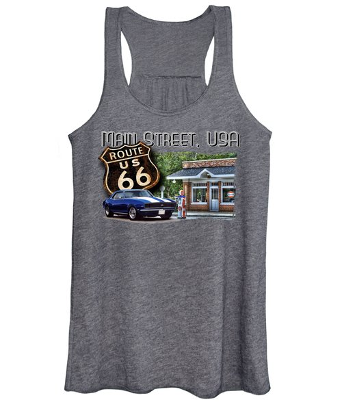 Main Street, Usa Camaro Women's Tank Top