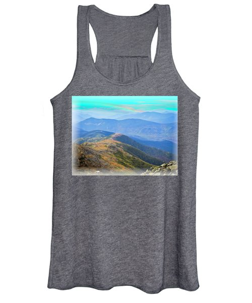 Majestic White Mountains Women's Tank Top