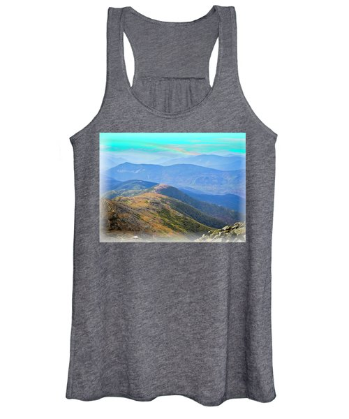 Majestic White Mountains Women's Tank Top