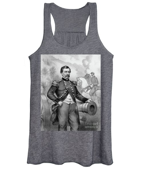 Major General George B Mcclellan Women's Tank Top