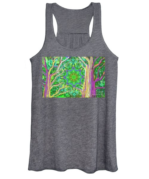 Mandala Forest Women's Tank Top