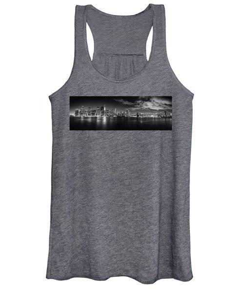 Manhattan Skyline At Night Women's Tank Top