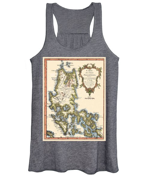 Map Of The Philippines 1752 Women's Tank Top