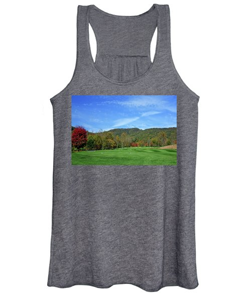 Maple Red Women's Tank Top