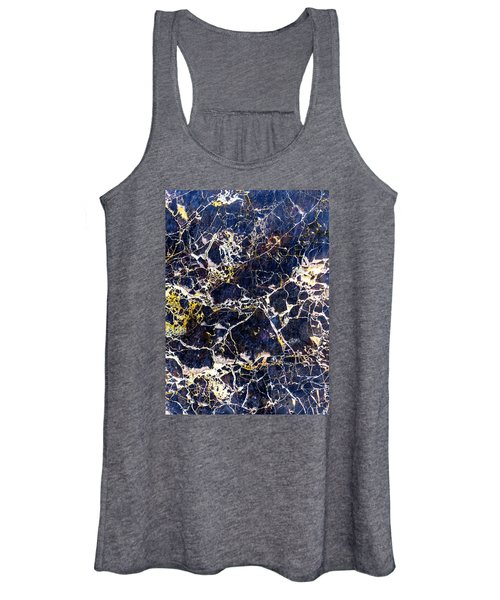 Marble Stone Texture Wall Tile Women's Tank Top