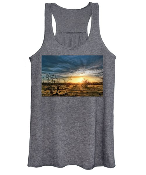 March Sunrise Women's Tank Top