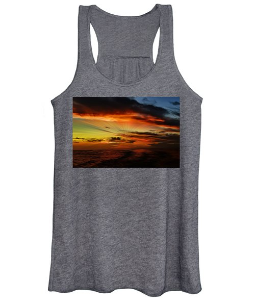 Marco Sunset Rays Women's Tank Top