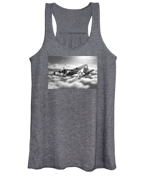 Martin B-26 Marauder Drawing Women's Tank Top
