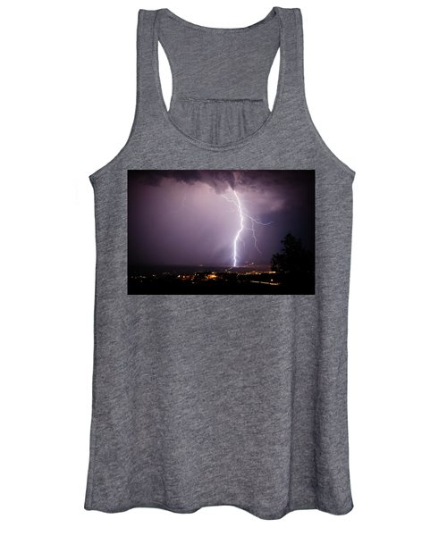 Massive Lightning Storm Women's Tank Top
