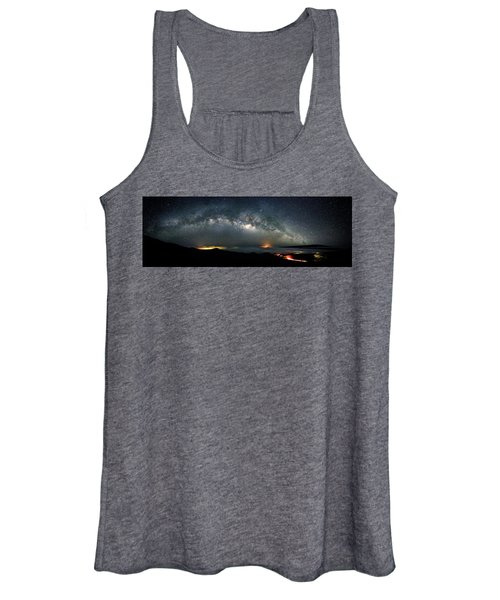 Mauna Kea Milky Way Panorama Women's Tank Top