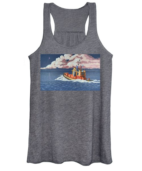Mayday- I Require A Tug Women's Tank Top