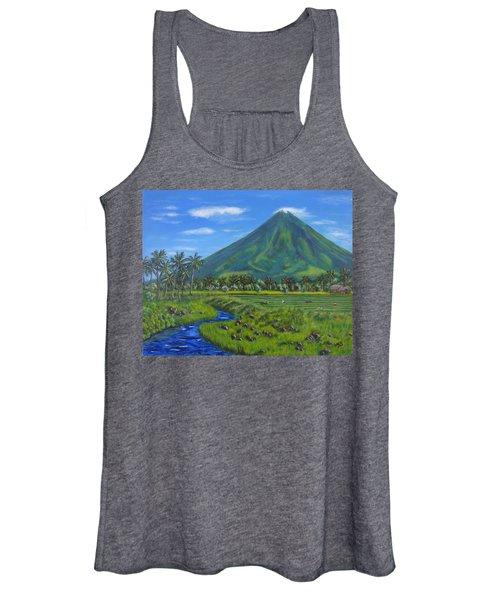 Mayon Volcano Women's Tank Top