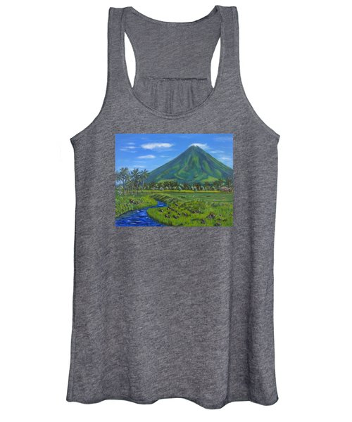 Mayon Volcano Women's Tank Top