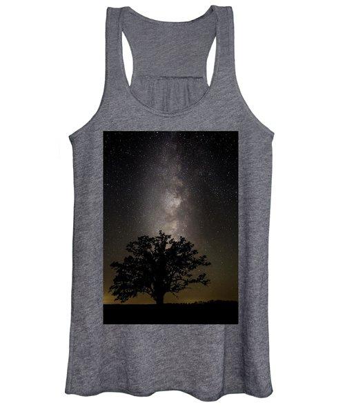 Mcbaine Bur Oak With Milky Way Women's Tank Top