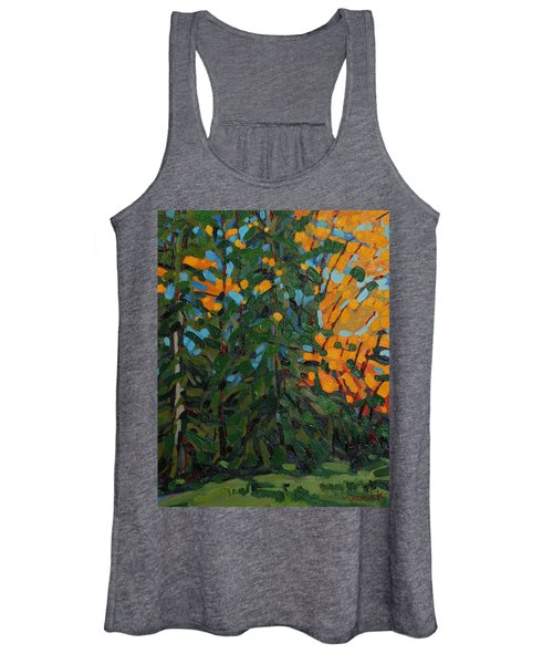 Mcmichael Forest Wall Women's Tank Top