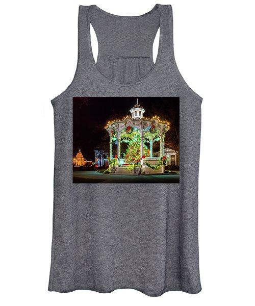 Medina, Ohio Christmas On The Square. Women's Tank Top