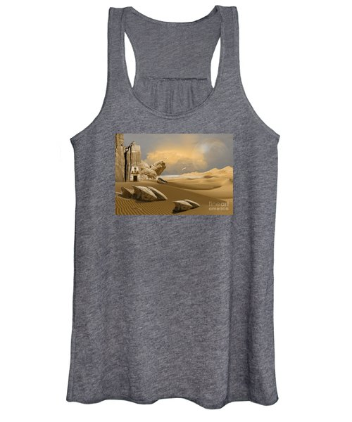 Meditation Place Women's Tank Top