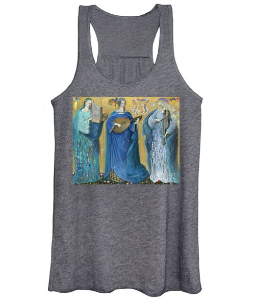 Meditations On The Holy Trinity  After The Music Of Olivier Messiaen, Women's Tank Top