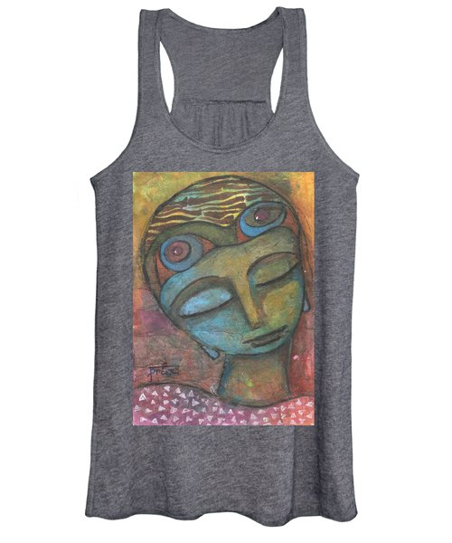 Meditative Awareness Women's Tank Top