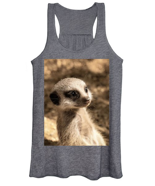 Meerkatportrait Women's Tank Top