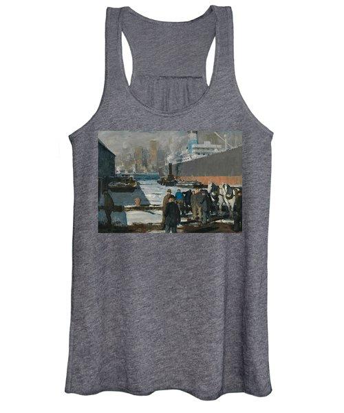 Men Of The Docks Women's Tank Top