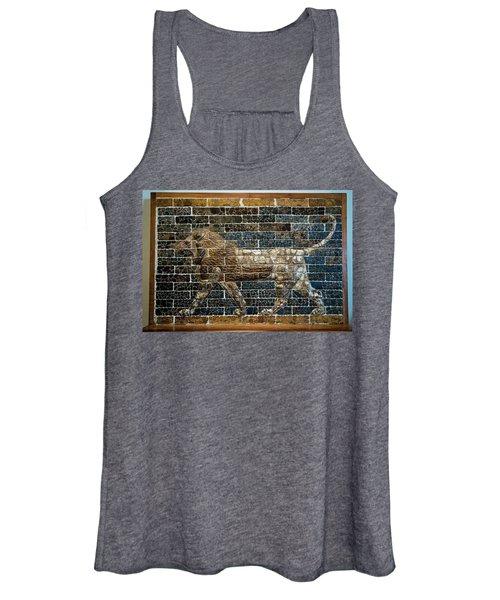 Mesopotamian Lion Women's Tank Top