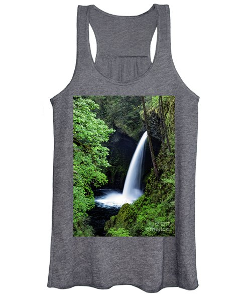 Metlako Falls Waterfall Art By Kaylyn Franks Women's Tank Top