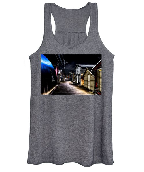 Midnight At The Boathouse Women's Tank Top