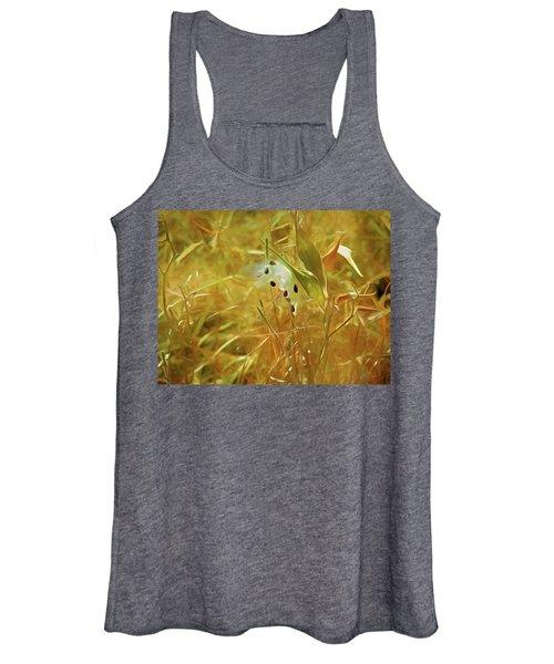 Milkweed In Sunlight 2 Women's Tank Top