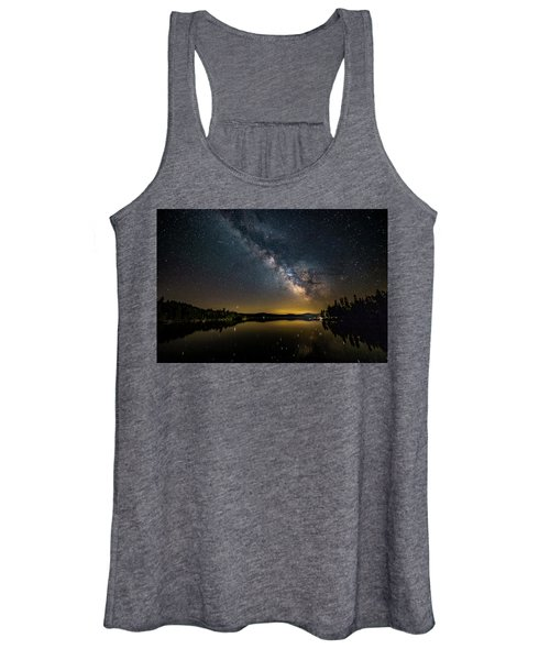 Milky Way At Hunter Cover Women's Tank Top