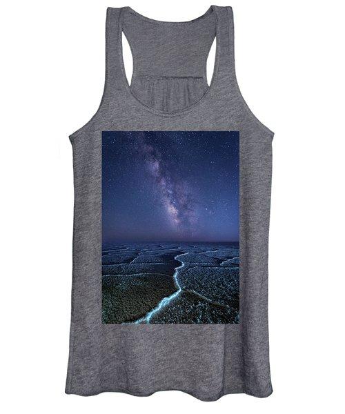 Milky Way At The Salt Flats Women's Tank Top