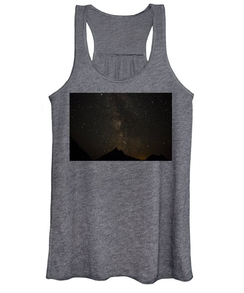 Milky Way, Glacier Nat'l Park Women's Tank Top