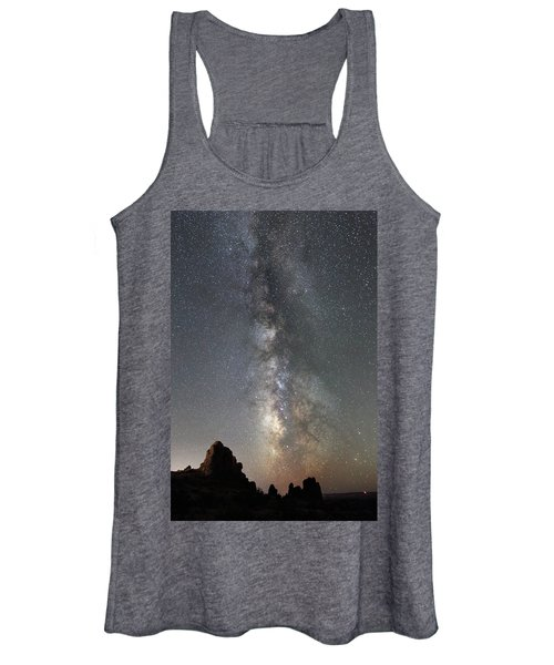Milky Way Over Arches Np  One Women's Tank Top