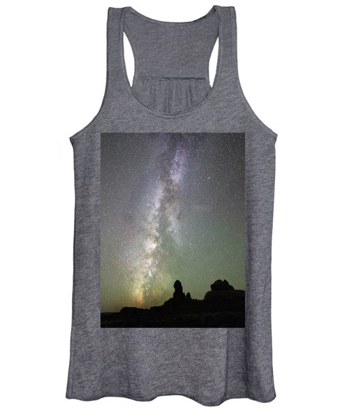 Milky Way Over Arches Np Four Women's Tank Top