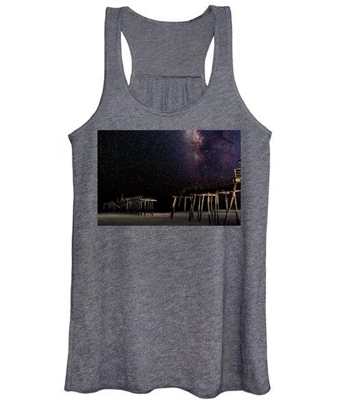 Milky Way Over Frisco Women's Tank Top