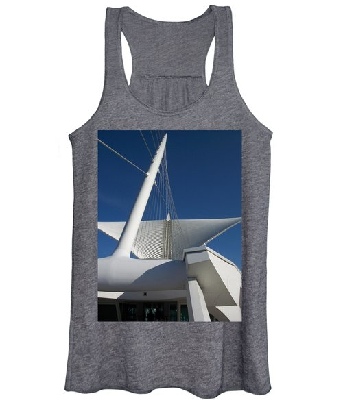 Milwaukee Art Museum Cropped Women's Tank Top