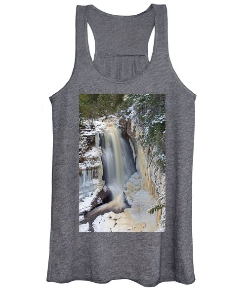 Miners Falls In The Snow Women's Tank Top