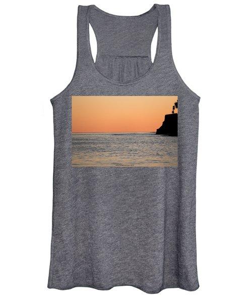 Minimalist Sunset Women's Tank Top