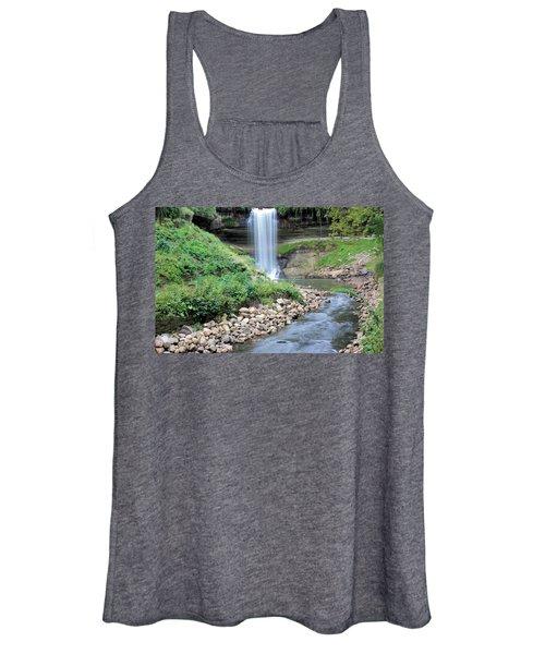 Minnehaha Falls Downstream Women's Tank Top