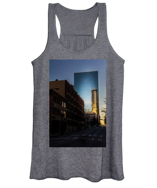 Mirror Reflection Of Peachtree Plaza Women's Tank Top