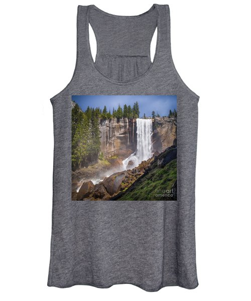 Mist Trail And Vernal Falls Women's Tank Top