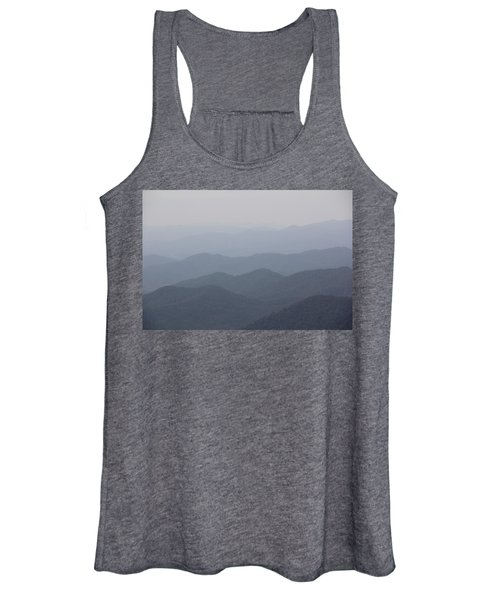 Misty Mountains Women's Tank Top